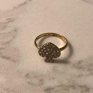 Kate Spade Gold Ring